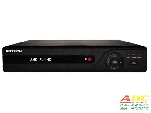 Đầu ghi hình camera IP và AHD 4 kênh VDTECH VDT-2700BAHD/1080N